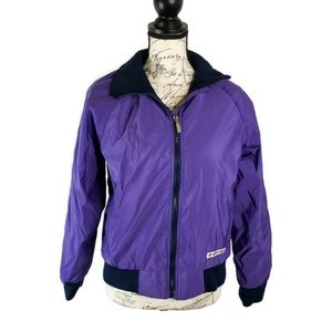 The North Face M womens jacket purple